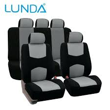 van car seat covers universal fit full set flat cloth fabric cover black most truck or protective sleeve