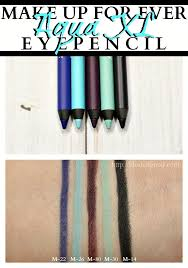 make up for ever aqua xl eye pencil liner swatches