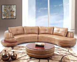 curved leather sofa endearing sofas contemporary and round sectional lyla n53