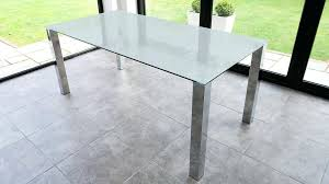 chrome dining table large frosted glass dining table silverado chrome round dining table