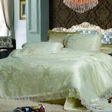 senoures green king size 220 x 240 cm skbm lace quilt cover set 4 pieces