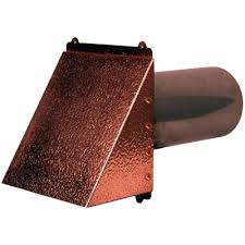 wall exhaust vent exterior cover dryer hammered copper flush mount kitchen co
