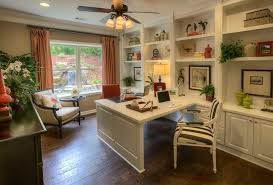 home office with two desks. Unique Home Double Sided Desk Home Office Elegant Two Contemporary With White Cabinets  Regarding 1  And Desks
