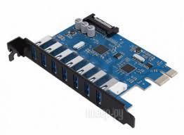 <b>Контроллер Orico PCI-Express PVU3-7U</b>
