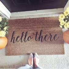 large front door matsOur Shut the Front Door doormat is the perfect way to convey