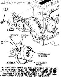 1990 chevy corsica you have diagrams drive belt graphic
