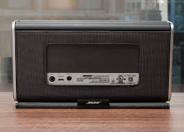bose 404600. rear of the speaker. sarah tew/cnet bose 404600 e