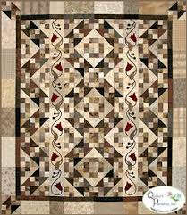Climbing Jacob's Ladder | Печворк | Pinterest | Patterns & Climbing Jacobs Ladder: Create a beautiful pieced and appliqued quilt with  this pattern! A neutral background is the perfect stage for two rows of  tulips. Adamdwight.com