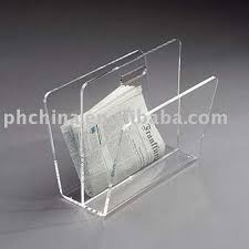 Perspex Magazine Holders Clear Acrylic Magazine RackPerspex Magazine HolderNewspaper Rack 1