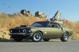 1969 Ford Mustang Shelby GT350---and in Army drab green ...
