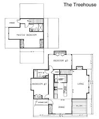 Plain Tree House Floor Plan Plans 171 Home Amp Design In Impressive