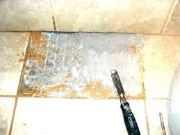removing ceramic floor tile tiles from chipboard with wire mesh removin