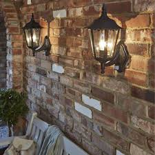 awesome wall mount outdoor light outdoor landscape lighting outdoor wall lantern lamp and brick wall and white chair and plant and bag