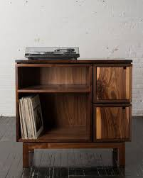 turntable furniture. walnut record player stand turntable furniture l