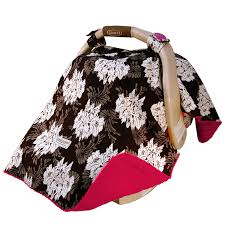cat canopy 5 pc whole caboodle baby car seat cover set no car seat included minky lovely com