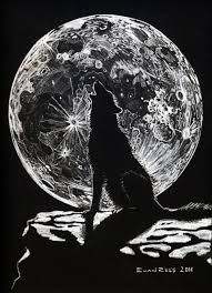 howling wolf moon drawing. Fine Wolf Howling Wolf Moon Drawing  Photo23 To Wolf Moon Drawing O