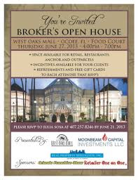 brokers open flyer template brokers who attend will be entered to win one of 2 gift certificates to parc rouge