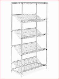 slanted wire shelving with bins elegant slanted wire shelving 36 x 18 x 72 h