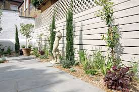 white rendered walls and white fencing