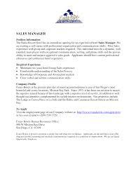 Resume Sales Director Resume
