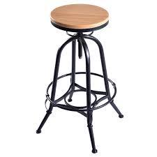 adjule swivel industrial metal design vintage bar stool table bar stools chairs furniture