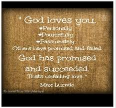 Quotes About God's Love Amazing God's Unfailing Love A CHRISTIAN PILGRIMAGE
