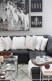 Rustic Glam Living Room