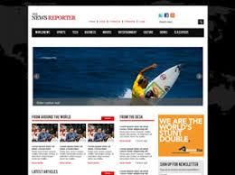 Free Html Newspaper Template Free News Website Templates 46 Free Css