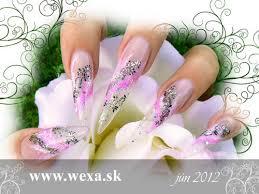 Ružové Gélové Nechty Na Každý Deň