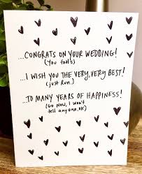 funny wedding card wedding cards wedding ideas and inspirations Best Wedding Card Messages 25 best funny wedding cards ideas on pinterest destination as well funny wedding card lilbibby as best wedding card messages funny