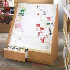 Wooden Display Stands Uk Cool Twenty Tier Card Unit 32mm Display Stands UK