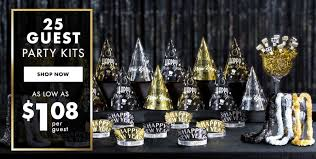 New Year's Eve Party Kits for 25 Guests Shop ...