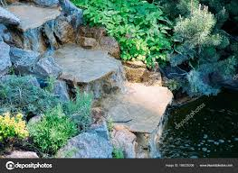 Artificial Pond Design Nice Little Artificial Pond Fountain Edge Water Lilies