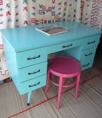 turquoise painted furniture ideas. Furnitures:Blue Sky Color Desk Painted Design With Pink Chair Blue Turquoise Furniture Ideas .