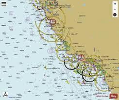 San Diego To San Francisco Bay Marine Chart Us18022_p1655