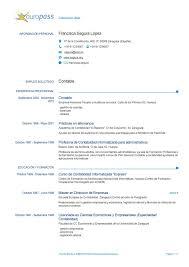 Formato Basico Formato Curriculum Vitae Basico Word Magdalene Project Org