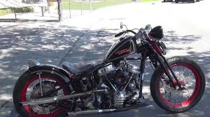 hunting harley s 1955 panhead bobber revisited youtube