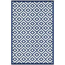 navy blue and white rug nirvana navy blue white lightweight indoor outdoor reversible plastic rug navy