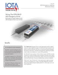 iota i emergency ballast wiring diagram wiring diagram and iota emergency ballasts i 42 em b dl lighting