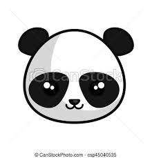 Kawaii Carino Stile Panda