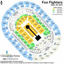 Foo Fighters Chesapeake Energy Arena