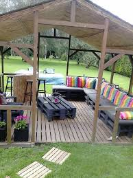 diy pallet terrace and pallets on pinterest build pallet furniture