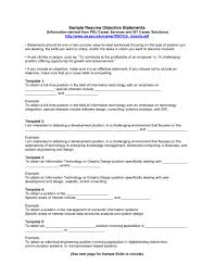 College Resume Objectives A College Resume Objectives Statements Objective For Students High 22