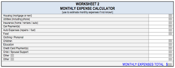 Monthly Expense Calculator Magdalene Project Org