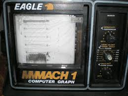 Eagle Mach 1 By Lowrance Computer Graph Display Unit For