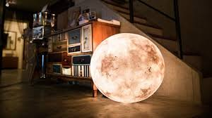 own your very own moon with the luna lamp