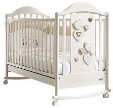 <b>Кроватка</b> Pali Celine <b>baby</b> (качалка), на полозьях — купить по ...