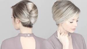 French Twist Hair Style how to french twist hair tutorial youtube 3862 by stevesalt.us