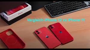 Vergleich iPhone 12 vs iPhone 11 - Was kann das neue besser ? Lohnt sich  das 11er heute noch ? - YouTube