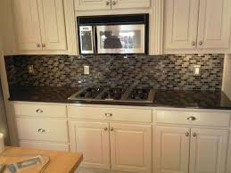 Stainless Steel Kitchen Furniture Kitchen Backsplash Tile With Dark Cabinets Stainless Steel Kitchen